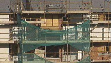 Regeneration: Social housing programme has boosted economy.