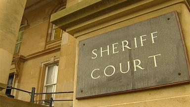 Dundee Sheriff Court exterior. Quality image.