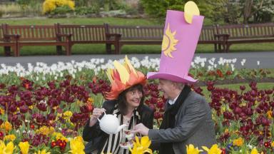 West end festival chair Liz Scobie and Director Michael Dale