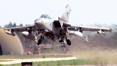RAF Tornado GR4 taking off Quality image