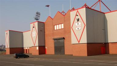Battleground: Airdrie's Excelsior Stadium will host the North Lanarkshire vs South Lanarkshire football game