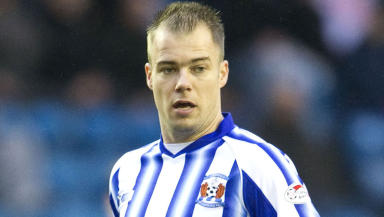 Dutchman Danny Buijs in action for Kilmarnock