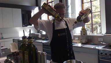 Nick Nairn opens new cookery school in Aberdeen.