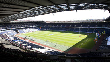 Murrayfield: Schoolboy was injured during final.
