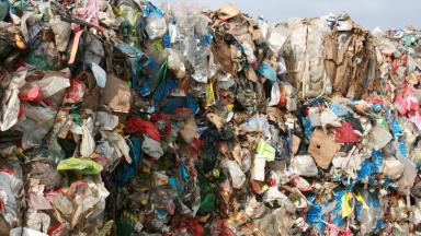 Waste: New plant will turn rubbish into power (file pic).