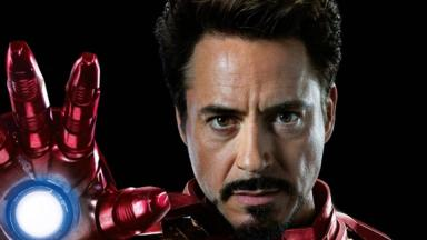 Avengers: Robert Downey Jr stars as Iron Man.