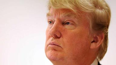 Portrait image of Donald Trump. Quality image.