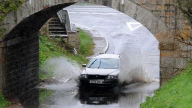 Storm: Gusts of up to 75mph expected (file pic).