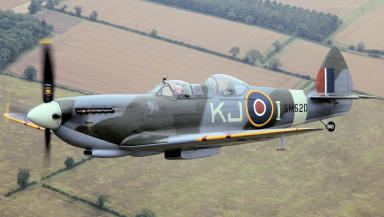 Spitfire: The Arbroath event will finish with a flypast.
