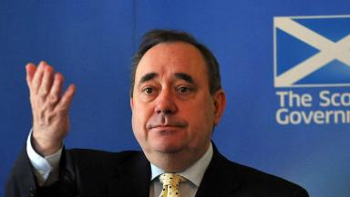 Portrait image of First Minister Alex Salmond. Quality image