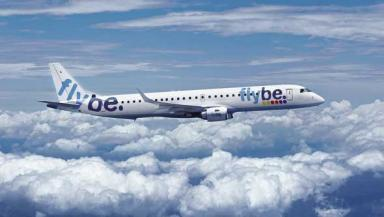 Flybe: 43 passengers were on board flight to Jersey.
