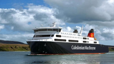 Impression of new Stornoway to Ullapool vessel.