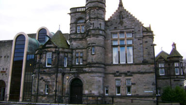 CCTV: Footage of 'fracas' was shown at Kirkcaldy Sheriff Court (file pic).