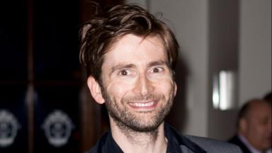 Festival: David Tennant will be at the premier of his new film.