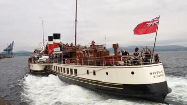 Waverley: The boat has been taken out of service.