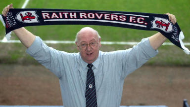 Raith Rovers director Turnbull Hutton.