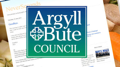 Image of Argyll and Bute Council and meals blog.