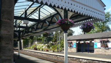 The station has enjoyed recent restoration.