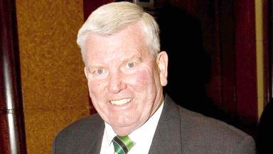 Joe McBride, former Celtic and Hibernian striker.