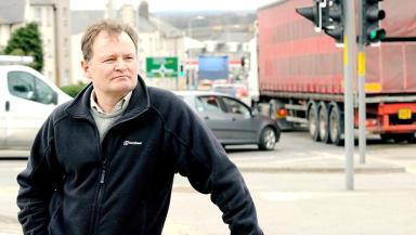 RoadSense Aberdeen bypass campaigner William Walton.