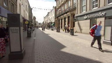 High street: One in eight shops lay vacant.