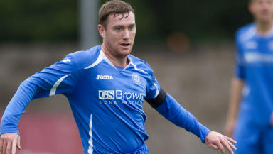 Patrick Cregg appears for St Johnstone as a trialist