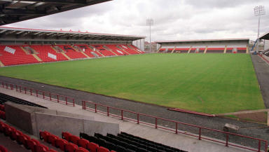 New Broomfield, home of Airdrie United.