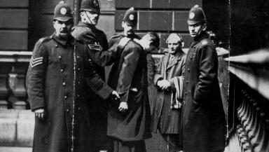 George Square riot: David Kirkwood and William Gallacher were held by police after the protest.