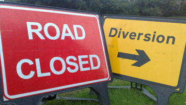 Gas leak: St Catherine's road has been closed.