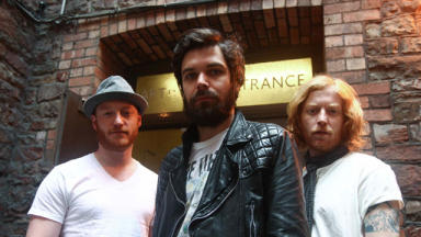 Biffy: Simon Neil (c) said Nirvana were a major influence (file pic).