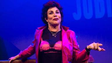 Ruby Wax: Cancelled fringe show over back injury.