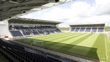 Quality GV of the Falkirk Stadium, home of Falkirk FC.