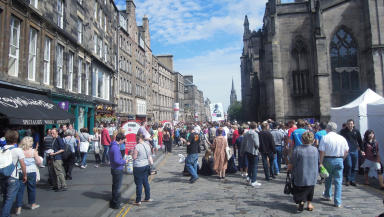 Edinburgh: Art festival will run from July to August.