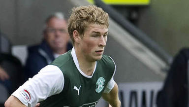 David Wotherspoon, Hibernian, August 2012.