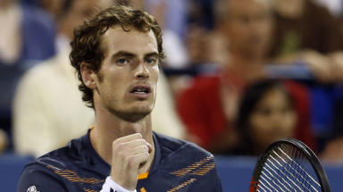 Andy Murray at the 2012 US Open.
