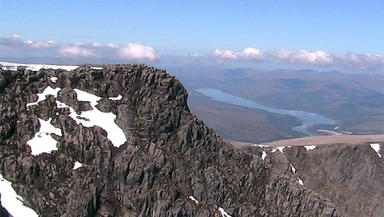 Ben Nevis: Rescue operation mounted on Tuesday morning (file pic).