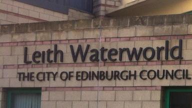 Leith Waterworld sign