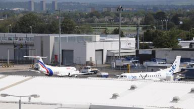 Delay: Flights were halted due to staff shortages.