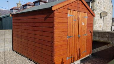 Secure Shed: Lossie residents warned after spate of thefts.