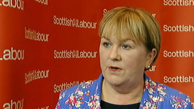 Johann Lamont at press conference on September 25
