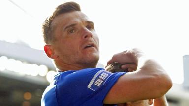 Lee McCulloch, Rangers, September 2012.