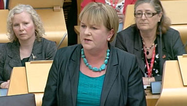 Scottish Labour Party leader Johann Lamont, September 27 2012