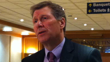 Kenny MacAskill speaking in Hamilton