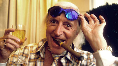 Abuse claims: Sir Jimmy Savile pictured in 1998