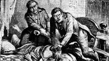 History: The skeleton of body-snatching murderer William Burke will feature in a virtual tour. (file pic)