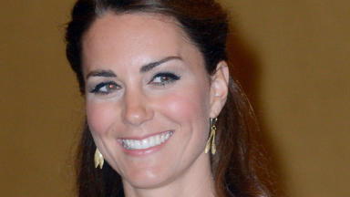 Cold: Kate spoke pf her time in St Andrews