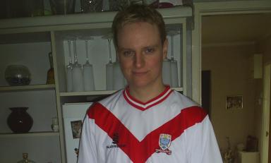 David Hendrie Airdrie United Football Club fan blogger