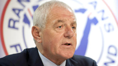 Walter Smith former manager has returned to Rangers in a non executive director role