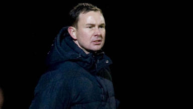 Ross County manager Derek Adams.