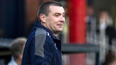 Dundee manager Barry Smith.